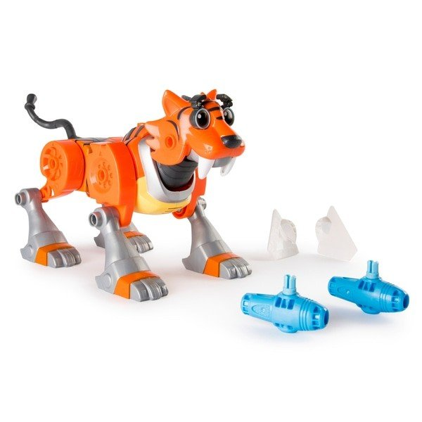 Set de joaca Tigerbot cu sunete Rusty Rivets Build Me